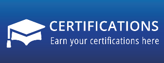 earn your certifications here