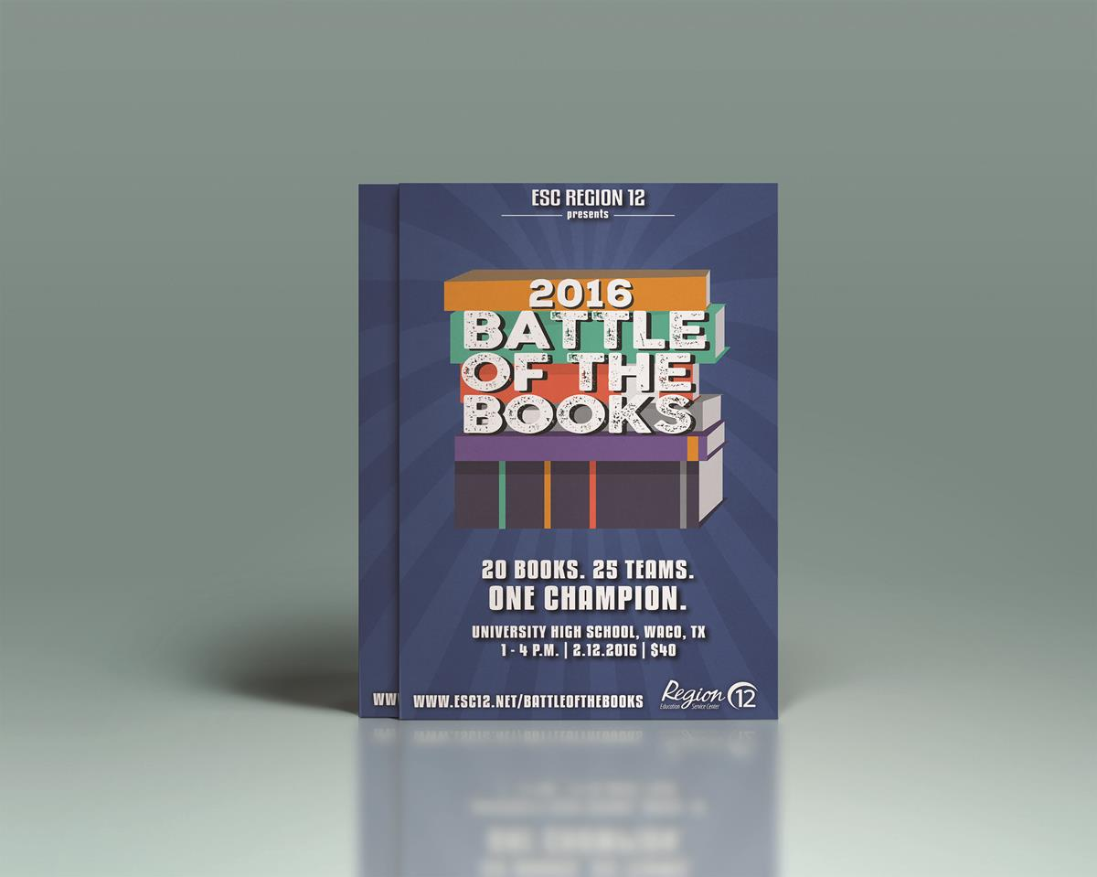 Battle of the books fliers
